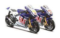MAISTO YAMAHA YZR-M1 model MotoGP race bikes Rossi Edwards Lorenzo Spies 1:18th