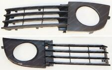 AUDI A6 C5 2002-2005 left front bumper lower grille with fog lights hole (LH)