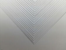 50 Sheets A4 400gsm Smooth Thick White Blank Craft Card Decoupage