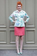 Damen Rock skirt pink 60´s True VINTAGE women Rosa 60er rosé women