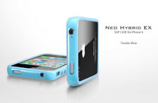 Spigen Case Bumper Neo Hybrid EX per iPhone 4 Tender Blue