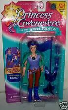 #4512 NRFC Vintage Kenner Princess Gwenevere Jewel Power Drake