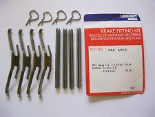 VAUXHALL OMEGA, CARLTON 1.8, 2.3 DIESEL BRAKE PAD Fixing Kit  UNIPART GBK6065