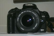Fotocamera Canon EOS 350D reflex digitale + obiettivo Canon 18-55 450d 400d