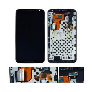 For Motorola Moto Google Nexus 6 XT1100 XT1103 LCD Display Touch Digitizer Frame