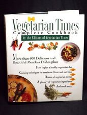 VEGETARIAN TIMES COMPLETE COOKBOOK BY THE EDITORS OF VEGETARIAN TIMES 1995 HC