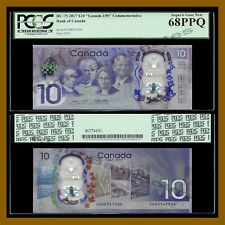 Canada 10 Dollars, 2017 P-New BC-75 (Canada 150 Commemorative) PCGS 68 PPQ