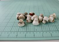 Pre Pro Porcelain Blob Top Bottle Caps/Stoppers, Unmarked Beer Toppers