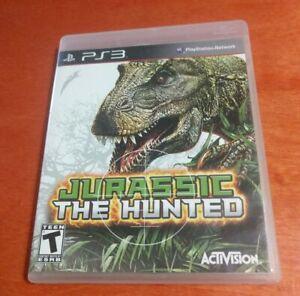 Jurassic The Hunted Sony PlayStation 3 PS3 Activision , Cauldron , Bohemia