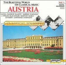 Audio CD Beautiful World of Classical Music 1: Austria  - Free Shipping