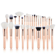 UK Jessup Professional 30Pcs Make Up Brushes Set Cosmetic Powder Eyeshadow Pink