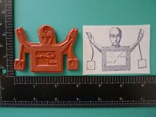 Land of Odd Doll Collage UM Cling ZETTIOLOGY Rubber Stamps Teesha Moore