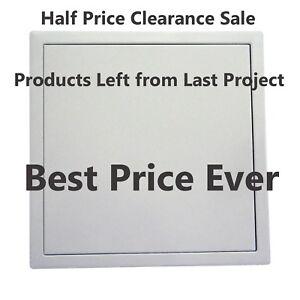 Clearance Touch Latch Lock Flange Frame- 450x450 Aluminium Access Panel Light