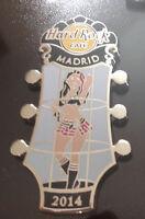 Hard Rock Cafe / MADRID / Go Go Girls Series / 2014 / Pin