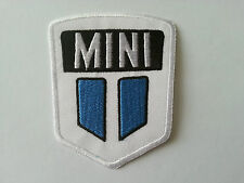 MOTORSPORTS MOTOR RACING CAR SEW / IRON ON PATCH:- MINI (a)