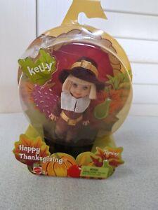 Kelly Club Happy Thanksgiving TOMMY Doll (2004) NRFB Mattel's Barbie line