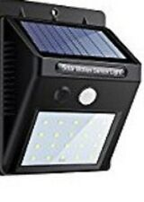 Faro solare con 20lampadine a led e Sensore di Movimento