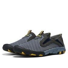 Men Sport Slip-On Loafer Sneakers Walking Shoes Breathable Mesh Athletic Sneaker