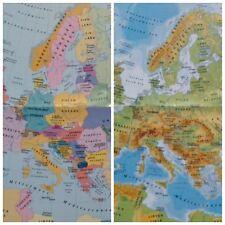 Teneriffa Karte Europa.Landkarte Europa In Atlanten Landkarten Gunstig Kaufen Ebay
