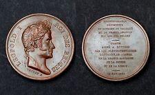 Léopold I° Roi des Belges. MEDAILLES Reconnaissance de Belgique. 1831. Cuivre