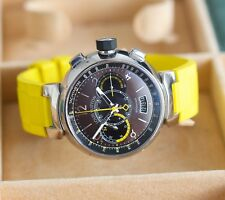 Louis Vuitton - Tambour Automatic Chronograph Jumping Seconds Q102L - Mint Rare