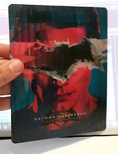 Batman v Superman Dawn of Justice 3D lenticular Flip effect for Steelbook