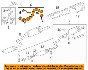 Chevrolet GM OEM 12-18 Sonic 1.4L-L4 Exhaust System-Front Pipe 95129306