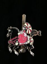 Disney Pin Mulan Khan Princess Carousel Horse LR