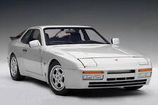 1/18 Autoart Porsche 944 Turbo 1985 ARGENTO culto! rarità! NUOVO in scatola originale