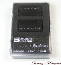 Seymour Duncan Pegasus & Sentient Humbucker Pickup Set, Black