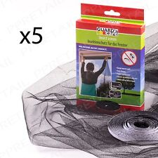5 x Large Window Screen Mesh Net Insect Fly Bug Mosquito Moth Door Netting Cover