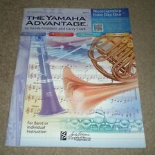 The Yamaha Advantage Alto Saxophone Book 1 New Pt-Ybm108-20