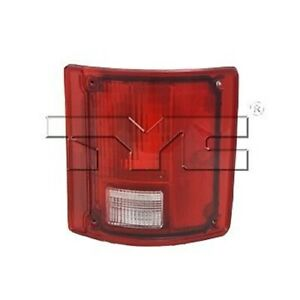 Right Side Tail Light Assembly For 1978-1991 Chevrolet C/K Pickup (w/o Chrome)