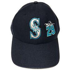 VTG Adrian Beltre Seattle Mariners Baseball Hat Snapback Cap Blue MLB Baseball