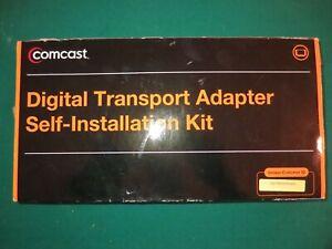 NEW OPEN BOX COMCAST  DIGITAL TRANSPORT ADAPTER DTA SELF INSTALLATION KIT