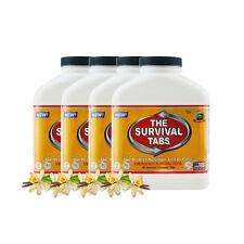 60-days S.O.S Vanilla survival tabs long tern emergency food supply exp 25 years