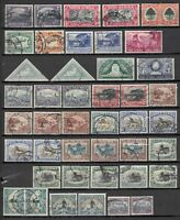 s22580) SOUTH AFRICA VF Used - Lot of used stamps from 1926 (as per scan)
