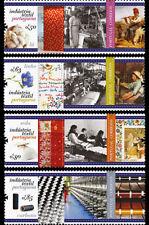 Portugal 2017 - Portuguese Textile Industry stamp set mnh
