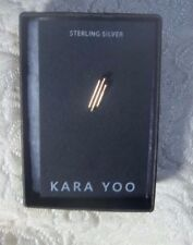 Kara Yoo Earring Urban Outfitters Post Stud Sterling Silver new in the box