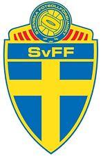 Finestra a forma di vinile adesivo 13x8cm calcio in Svezia World Cup Russia Auto