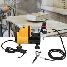 Airbrush Compressor Air Airbrushing Kit Set Silent Woodworking Spray Paint Pump