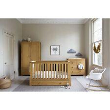 Mamas & Papas Osborne Solid Oak Nursery Furniture Set Cot Wardrobe Dresser
