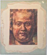 Listed Belgian Artist Joseph Verdegem (1897-1957) Signed Watercolor 1928