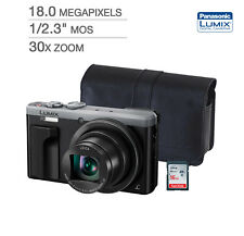 NEW PANASONIC Lumix ZS60 30X Super Zoom Compact Travel Camera BUNDLE 16GB + CASE