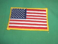 #234 - EMBROIDERED AMERICAN FLAG SHOULDER PATCH - BOY SCOUTS, LAW ENFORCEMENT