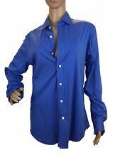 Polo Ralph Lauren Mens Polo Shirt Button Down Long Sleeve Collar Cotton Slim M