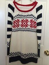 Japan Like Liz Lisa Snidel Floral Mini Sweater Dress Size Small S