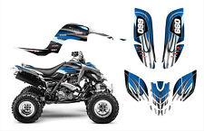 YAMAHA RAPTOR 660 660R GRAPHICS CUSTOM STICKER KIT #1300 BLUE TRIBAL