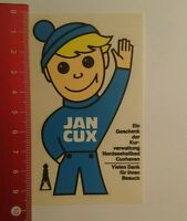 Aufkleber/Sticker: Kurverwaltung Cuxhaven Jan Cux (14071637)