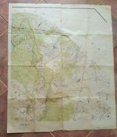 SCARCE - WWII POLISH MAP - TAJNE - Bydgoszcz County, POLAND -